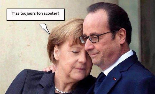 Hollande et Merkel