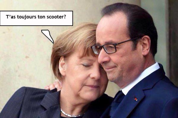 Hollande et Merkel