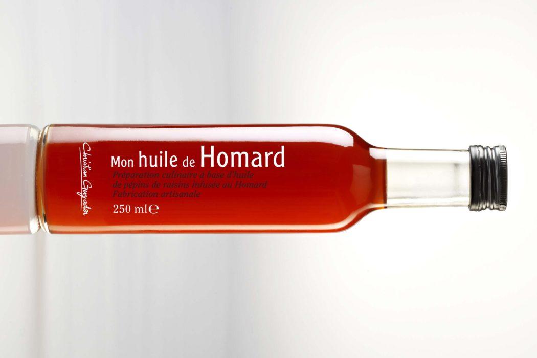 Mon huile de homard