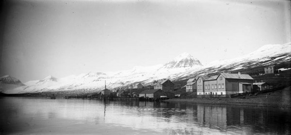 village pêcheurs français en islande