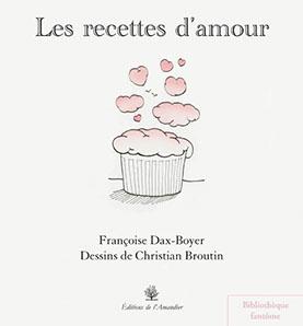 couverture recettes d'amour editions de l'amandier