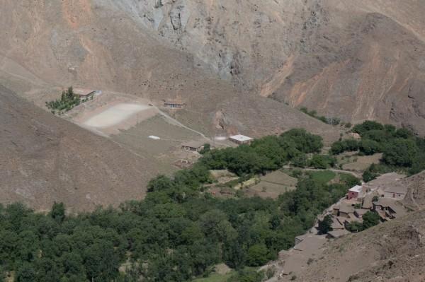 Terrain foot maroc atlas