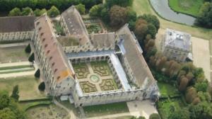 abbaye,de,royaumont cloitre