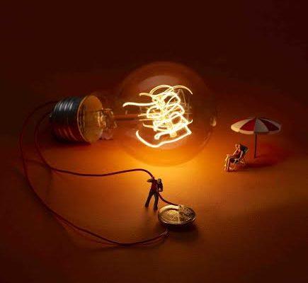 energiser minimiam la lumière