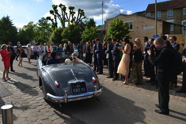 mariage sortie de messe