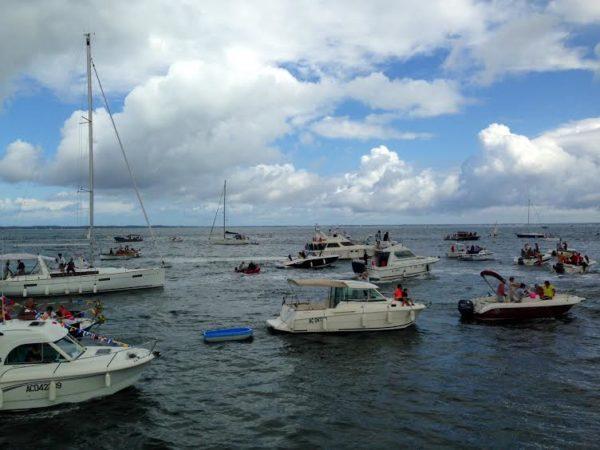 Arcachon fêtes de la mer bateaux