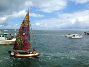 Arcacon fêtes de la mer voile