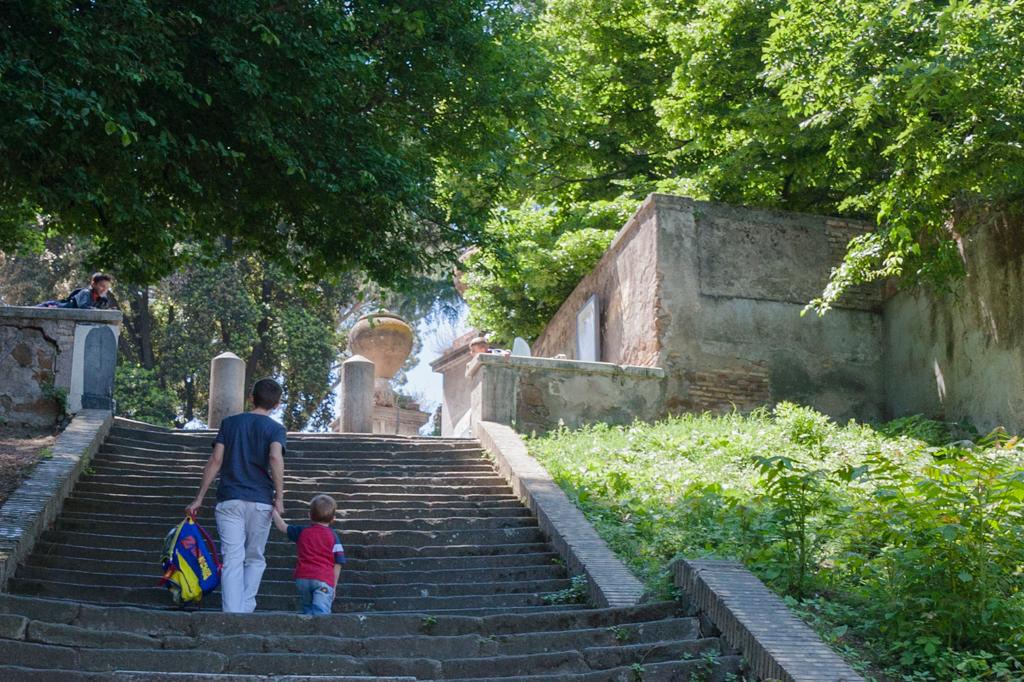 Rome Ecole Epagnole  Colline du Janicule