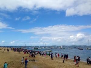 arcachon  fêtes de la mer public