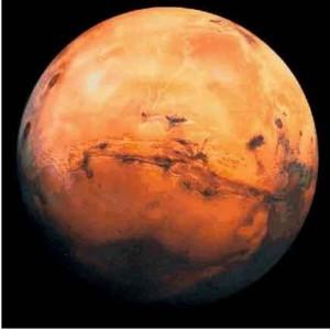 mars planète rouge nuis des étoiles