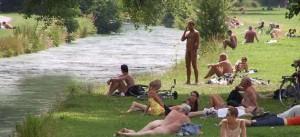 munich nudistes dans les parcs