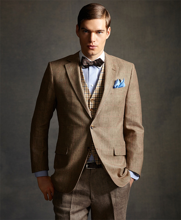 Style Great Gatsby Dans La Salle De Bain: Mrporter.com Avec Kingsman