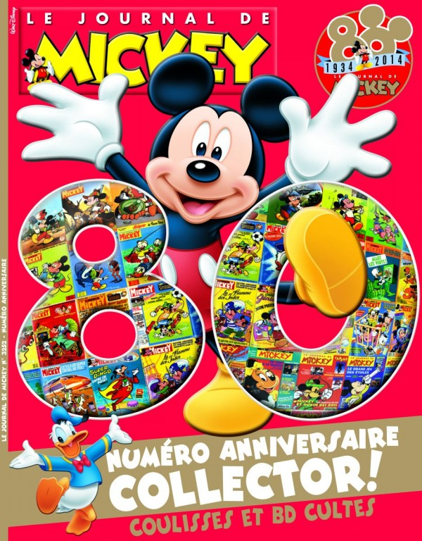 journal de Mickey collector