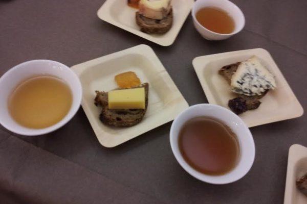 thé et fromage. Maison de la Chine.