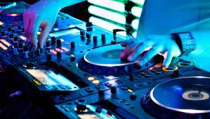 before work. DJ
