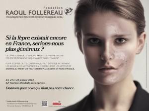 Communiqué quête Fondation Raoul Follereau.