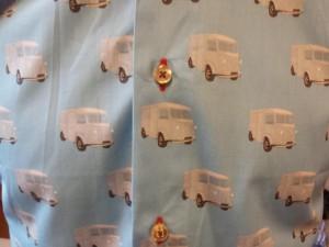 Coton Doux. Détail camionnette.