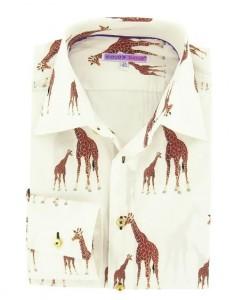 coton doux.motif girafe.