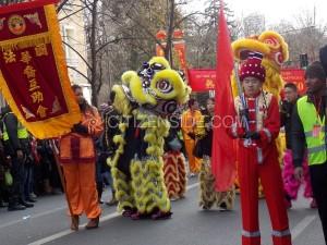 Nouvel an Chinois. XIII ème arrondissement.