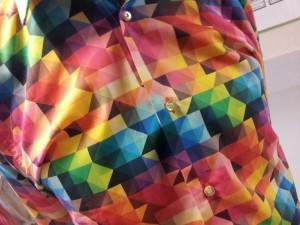 coton doux . geometrique