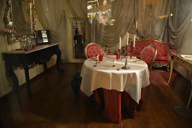 restaurant pour deux. Pépérino. San Miniato.