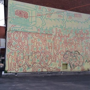 Melbourne. Keith haring.