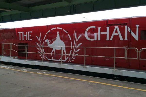 Ghan. Locomotive