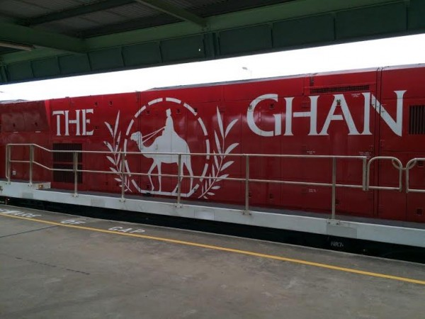 Ghan. Locomotive