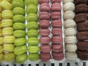 macarons gourmands. plusieurs. Yannick Lefort.