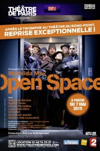 open space. Mathilda may. Affiche