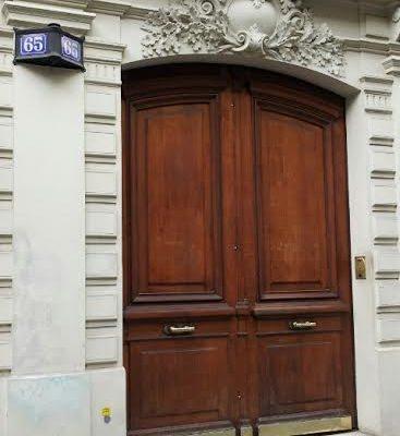 65 Av de la République. Paris 75011.