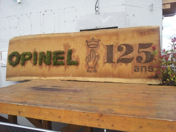 Opinel 125 ans.