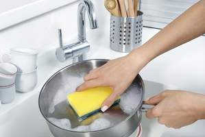 faire la vaisselle.