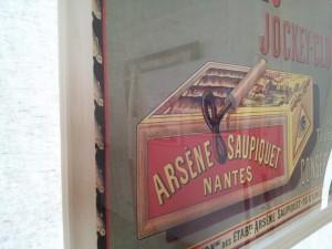 Arsène Saupiquet. Clef. Boite de sardines.
