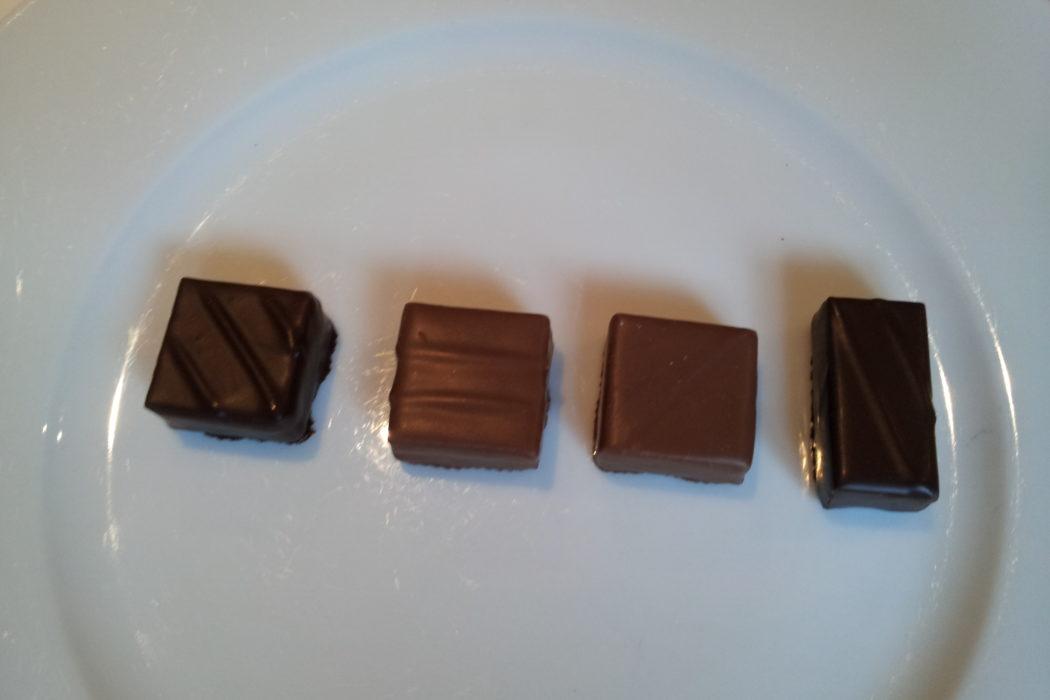 Club Croqueurs de chocolat. dégustation