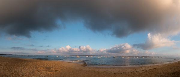Soleil levant Pyla sur Mer Bassin Arcachon