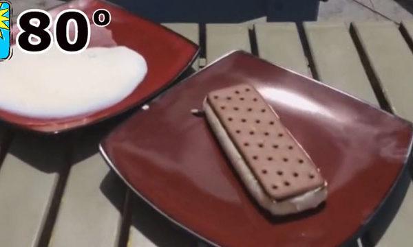 creme glace ne fond pas