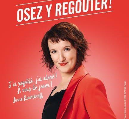 Anne Roumanoff. Ambassadrice de mon chéri. Ferrero