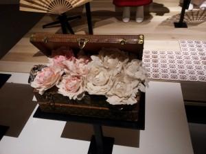 Louis Vuitton. Coffret fleurs. Asnières