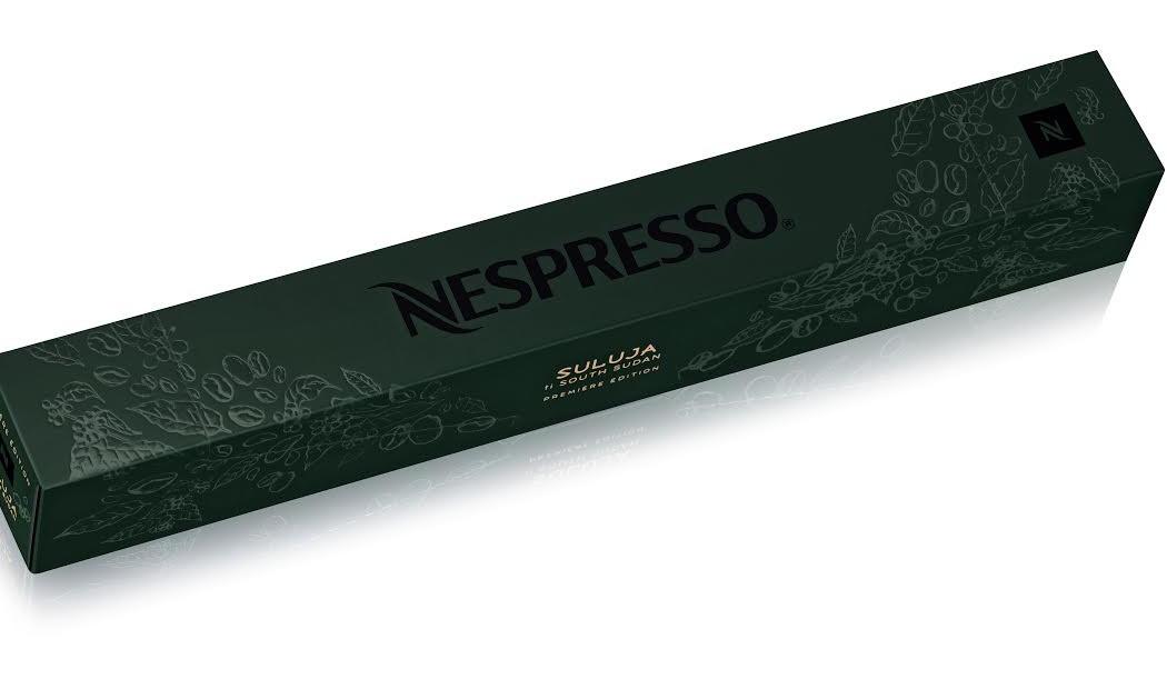 Nespresso. capsule du nouveau Grand Cru Suluja. Etui.