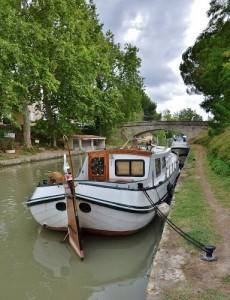 Poilhes. Canal du Midi.