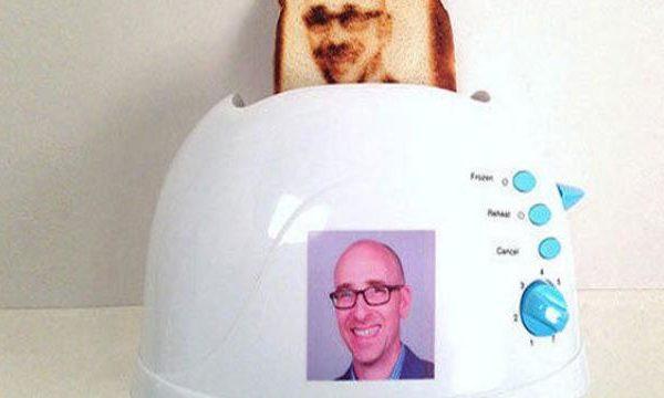 grille pain selfie