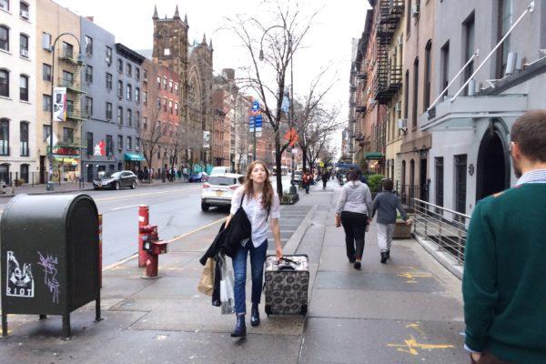 Chaleur New York Chelsea jeune amériCAINE