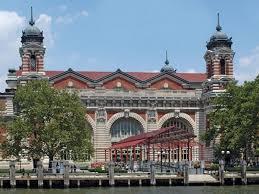 Ellis Island Immigration museum.