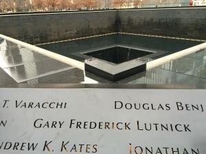 Bassins du Mémorial. Manhattan. 11 Septembre.