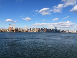 Manhattan. Vue de Brooklyn.