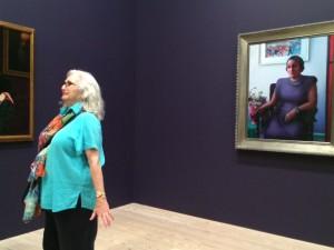 Chelsea. Whitney Museum. Archibald Mothley. La Femme Qui Marche.