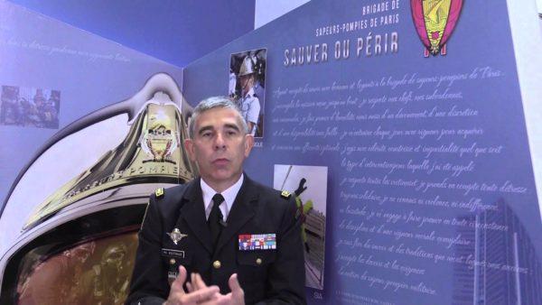 général Boutinaud. Pompiers de paris. premiers secours.