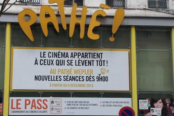 Ciné Pathé Wepler.
