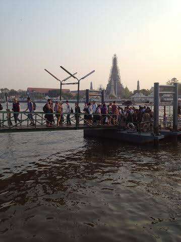 Bangkok 2 embarcadère.